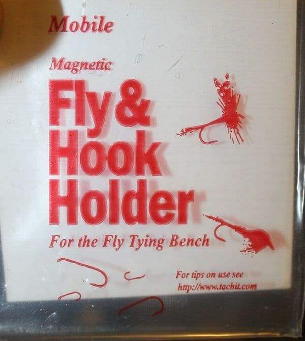 Fishing Fly and Hook Holder Magnetic Fly Tying Tool Photographic O5